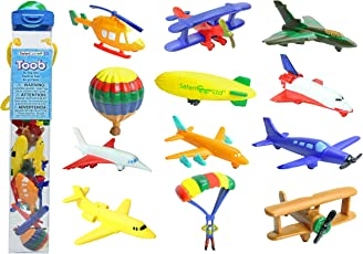 Plastic Miniatures In Toobs-In The Sky 12/Pkg