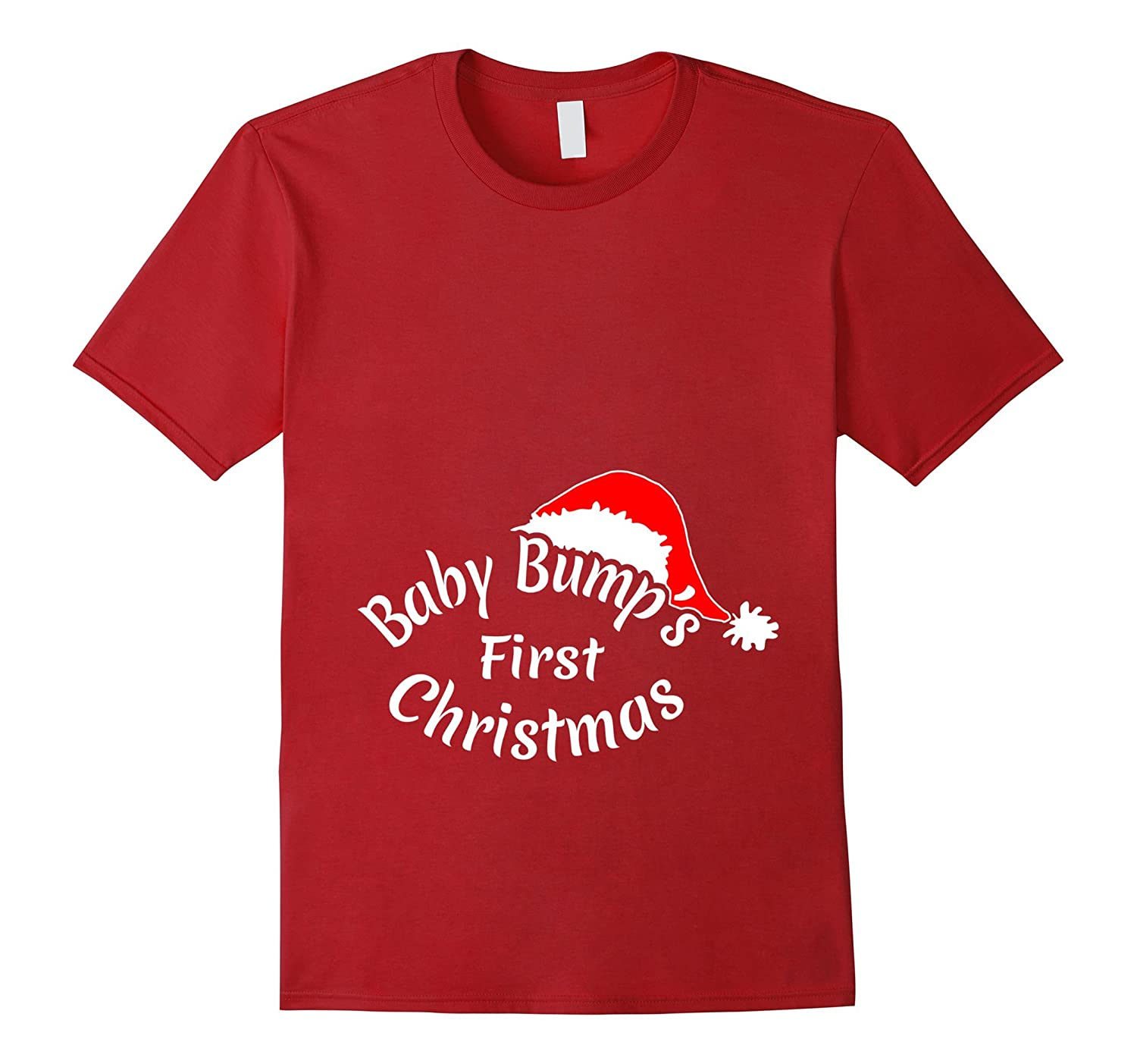 Christmas Maternity T Shirt – Baby Bumps First Xmas