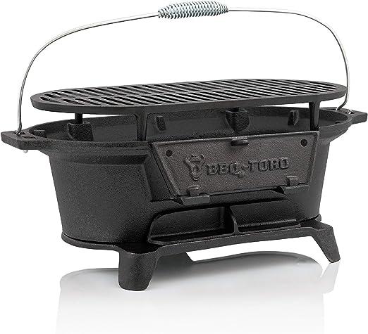BBQ-Toro - Parrilla Portátil I Plancha de Mesa I Estilo Hibachi I ...