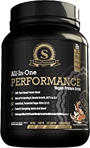 All in One Performance Vegan Protein Drink Cacao & Turmeric