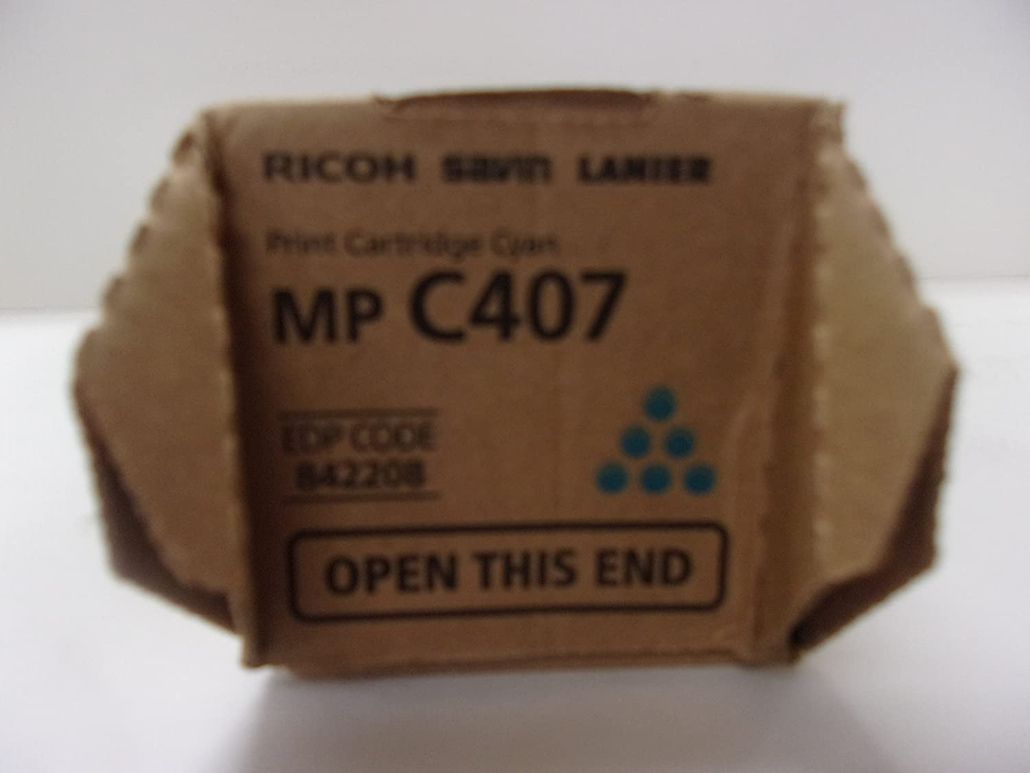 842208 OEM Ricoh Cyan Toner for MP C407