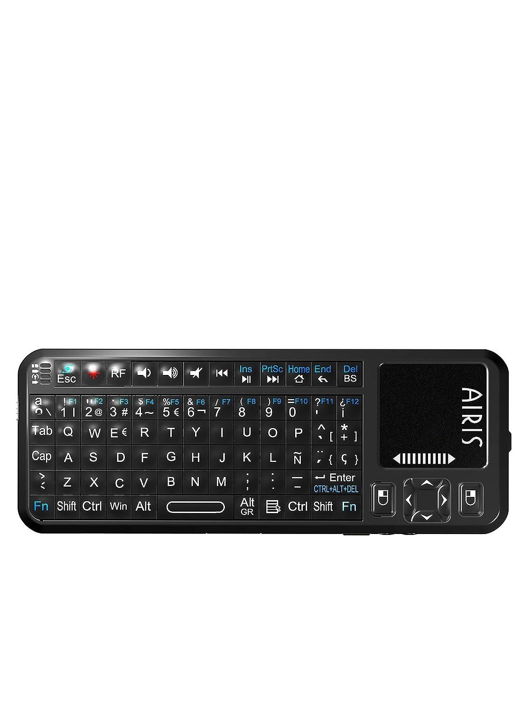 AIRIS Mini Teclado Inalámbrico Con Touch Pad: Amazon.es: Electrónica