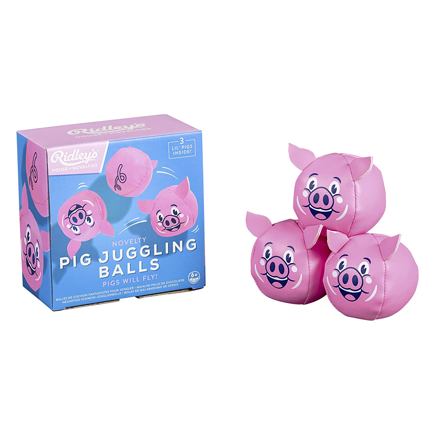 Novelty Pigs Beginners Juggling Balls for Adults and Kids Set of 3