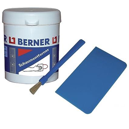 Espuma de poliuretano Entferner con spachten y pincel 100 ml