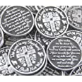 Set of 10 The Lord is My Shepherd Pocket Token Coins