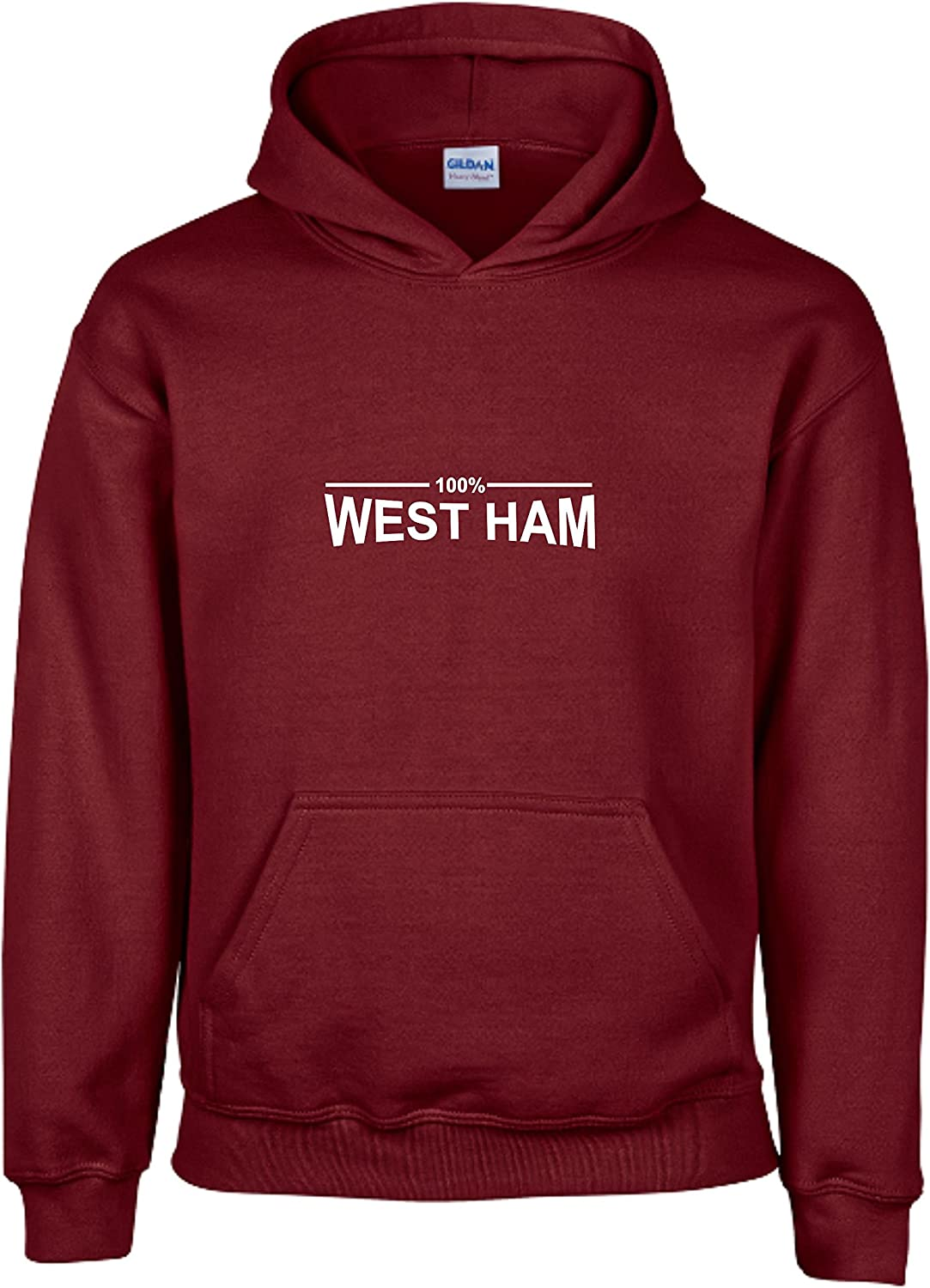Merry Christmas West Ham Fan Hoodie Mens