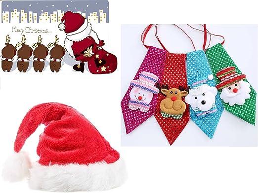 Set Regalo Navidad para 4/8 personas a elegir color gorro Papá ...
