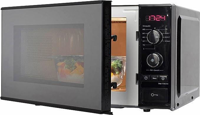 zearo automática Microondas, con grill, volumen 20 litros ...