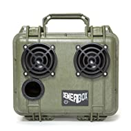 DemerBox: World's Toughest Waterproof Bluetooth Speakers. Portable Rugged Bluetooth Speakers with Deep Bass & Loud Sound, 50hr Battery Life, Internal Storage + USB Charging, 100ft Bluetooth Range