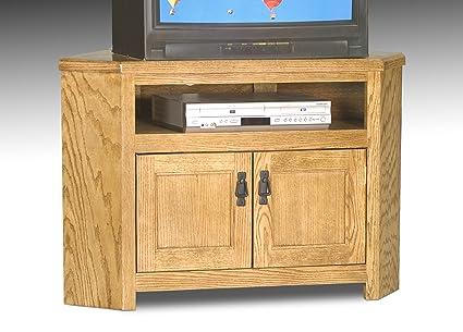 Eagle Furniture 40.75u0026quot; Corner TV Stand (Made In ...