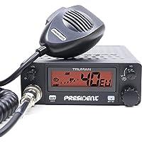 Radio CB Presidente Truman ASC, con código de silenciamiento automático TXMU092