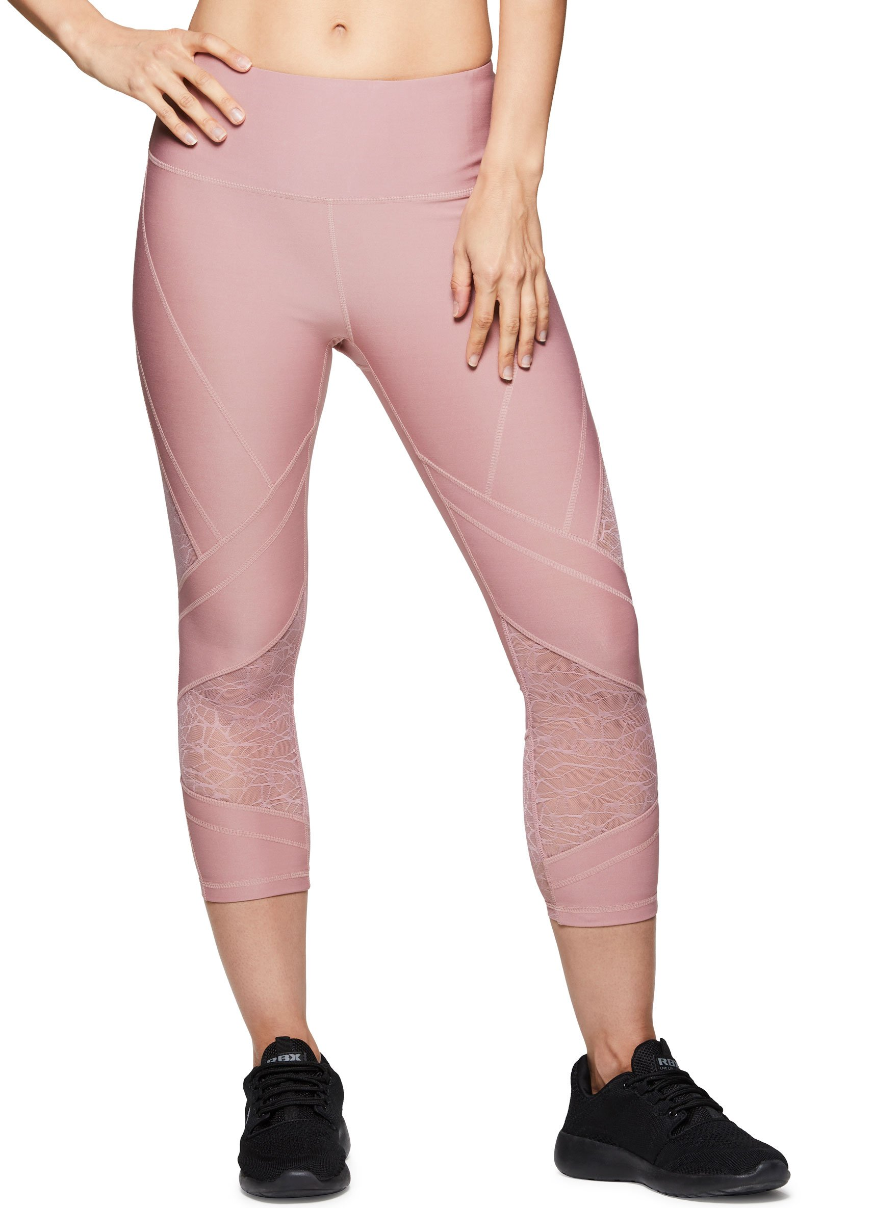 ba27a1a213 Galleon - RBX Active Women Workout Yoga Leggings Pink Spring Combo XL