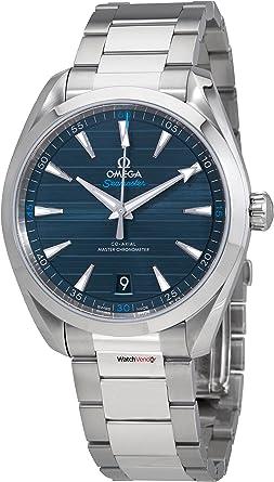 Omega Seamaster Aqua Terra Blue Dial orologio automatico da