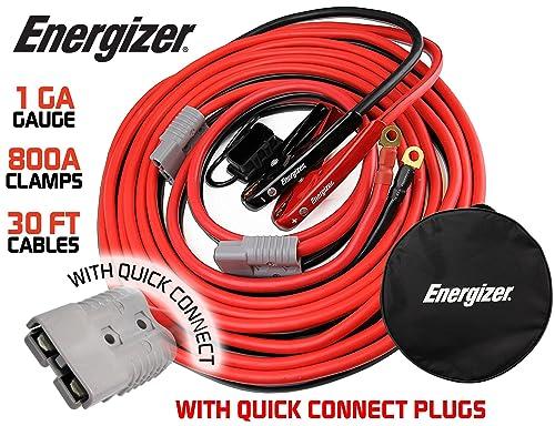 Energizer Jumper Battery Cables