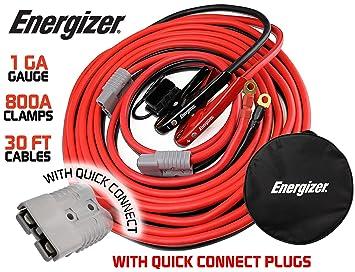 Amazon.com: Energizer 1-Gauge 800A Permanent installation kit ...