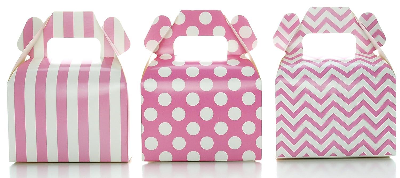 Amazon.com: Hot Pink Candy Box Kit, Bright Fuchsia Pink Wedding ...