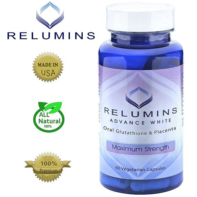 Auténtico Relumins blanco Oral blanqueamiento fórmula ...
