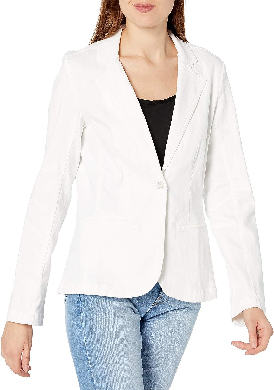 Sanctuary Women's Reese Feminine Denim Under blast sales Cut Popular brand in the world Blazer