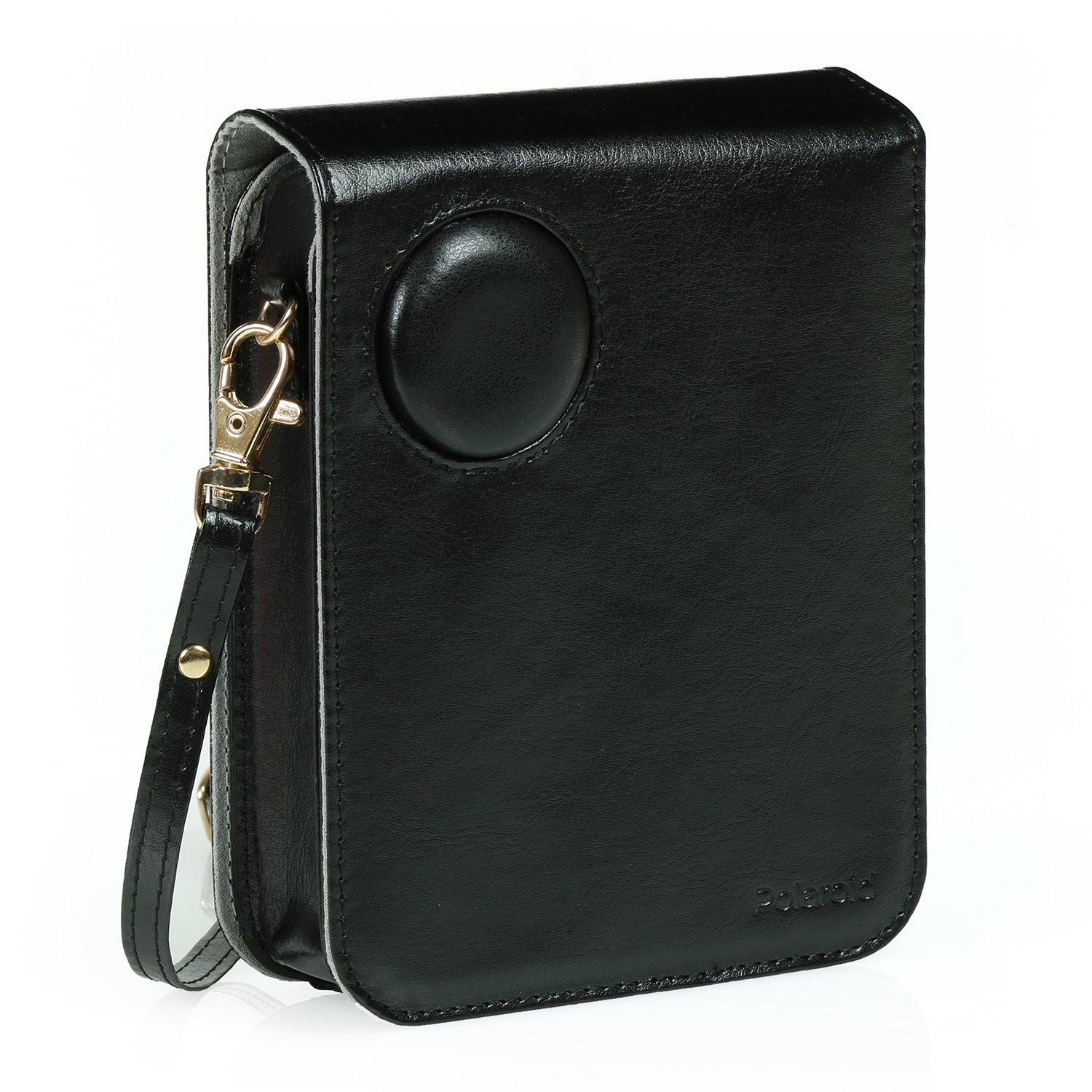 Polaroid Leatherette Case (Black) for Polaroid POP Instant Print Digital Camera – The Most Stylish & Authentic Way to Protect Your Polaroid POP