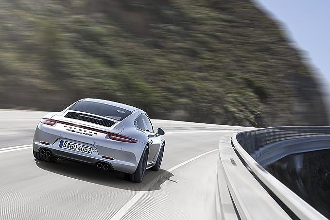 Classic y los músculos de los coches y COCHE (991) Porsche 911 de Carrera 4 GTS (2014) en coche Póster de 10 mil Archival papel satinado de movimiento ...