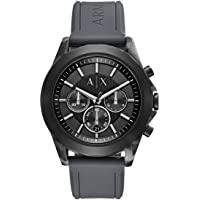 Armani Exchange Drexler Grey Chronograph Watch AX2609