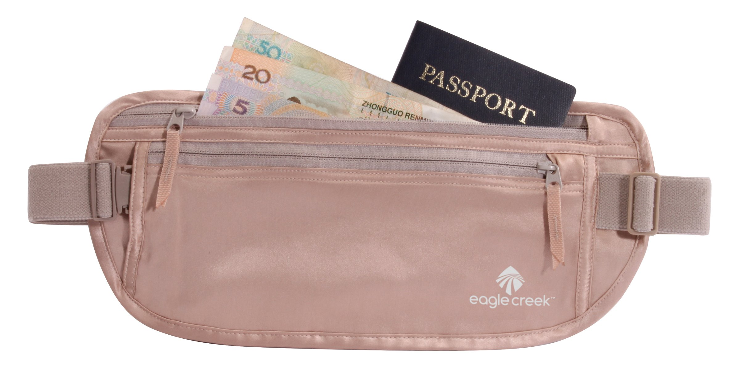 Eagle Creek Silk Undercover Money Belt, Rose