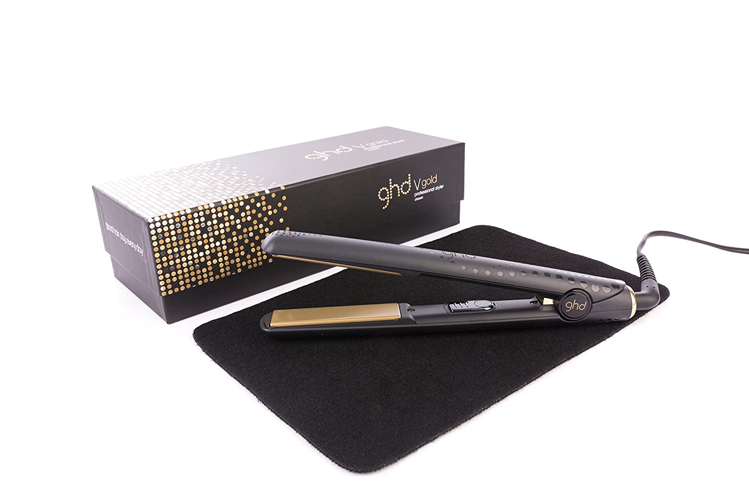 GHD Classic Gold V Mark 5 Styler with Mateque Heat...
