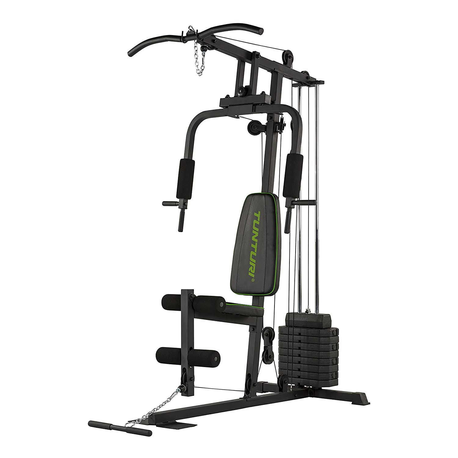 Tunturi HG10 Home Gym Kraftstation, schwarz, 1