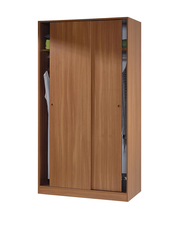 Mobimarket - Armario barato 2 puertas correderas de 90 cm