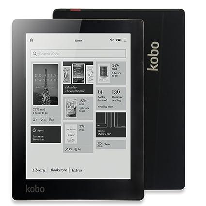 beauté le dernier fréquent 6 inch E-reader Kobo Aura Ebook Reader e-ink Resolution 1024x758 N514  Built-in Front Light eBook Reader WiFi 4GB Memory (Black)