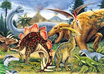 Malen Nach Zahlen Dinosaurier Painting By Numbers Dinosaurs