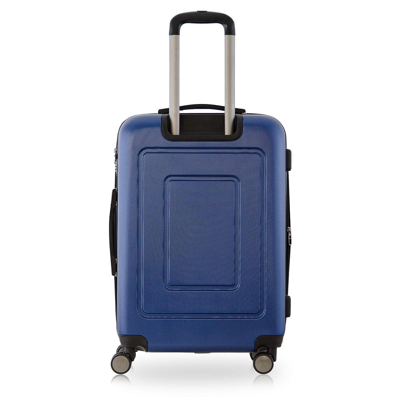 Happytrolley Juego de maletas, azul oscuro (azul) - HT1601-DB-44+78: Amazon.es: Equipaje