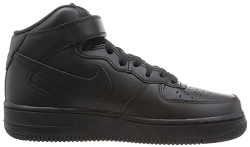 Nike Air Force 1 Mid '07 Le 366731 Damen Sportschuhe, Nero (Black/Black), 39