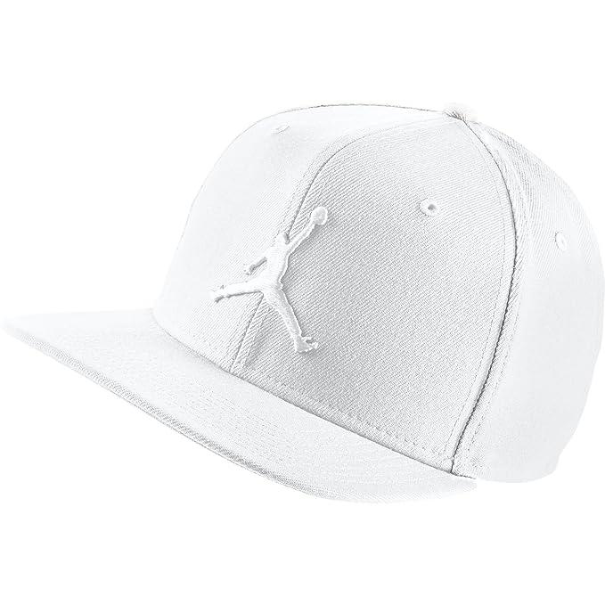 Gorra Jordan - Jumpman Snapback blanco talla: Ajustable: Amazon.es: Ropa y accesorios