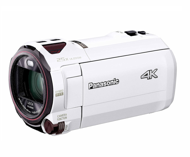 パナソニック 4K ビデオカメラ VX990M 64GB あとから補正 ホワイト HC-VX990M-W   B07CB9W9SV
