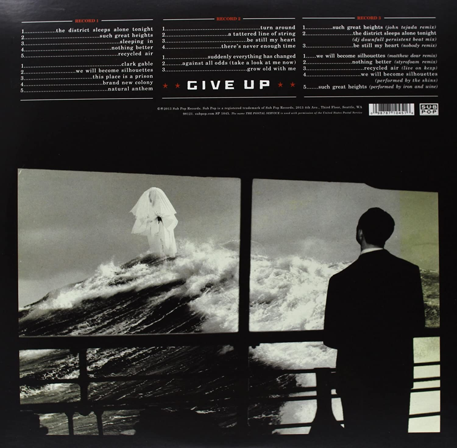 The Postal Service Give Up Deluxe 10th Anniversary Edition Amazon Com Music