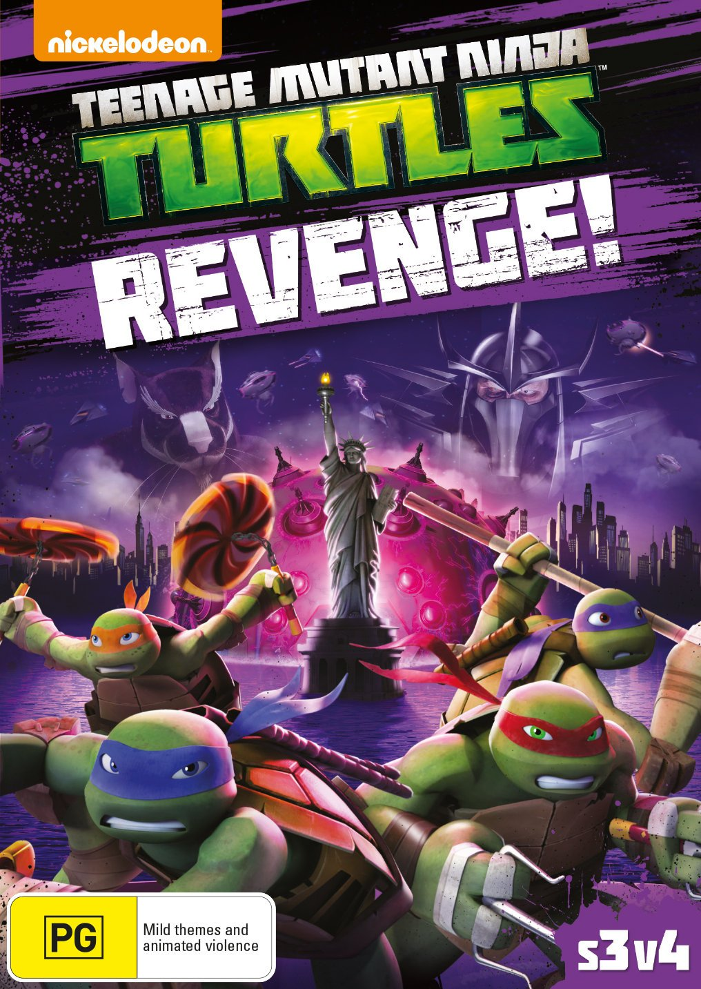 Teenage Mutant Ninja Turtles S3 Vol 4 Edizione: Australia ...