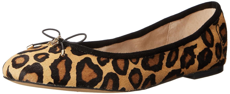 Sam Edelman Women's Felicia Ballet Flat B00DBKESH2 8 W US|New Nude Leopard