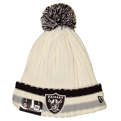 Image Unavailable. Image not available for. Color  Oakland Raiders New Era  NFL Yester-Year Cuffed Knit Hat 1050bea90