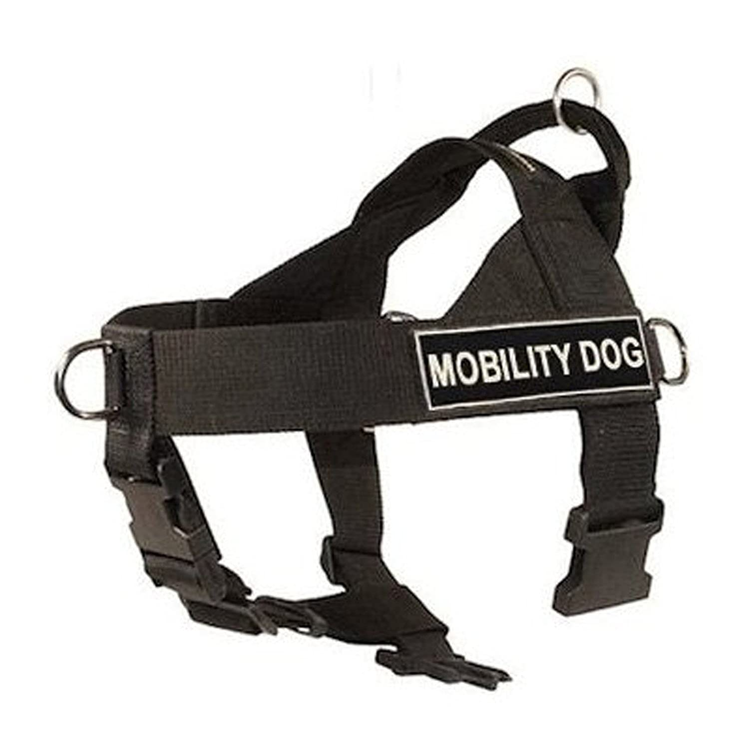 L Dean & Tyler Universal No Pull Dog Harness, Mobility Dog, Large, Fits Girth Size  31-Inch to 42-Inch, Black