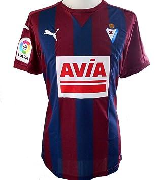 Puma SD Eibar - Camiseta Oficial de fútbol para Hombre (2016-2017): Amazon.es: Deportes y aire libre