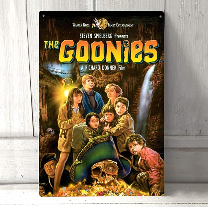 The Goonies Movie Poster Metal Tin Sign Pin Up Metal Decor Wall Decor