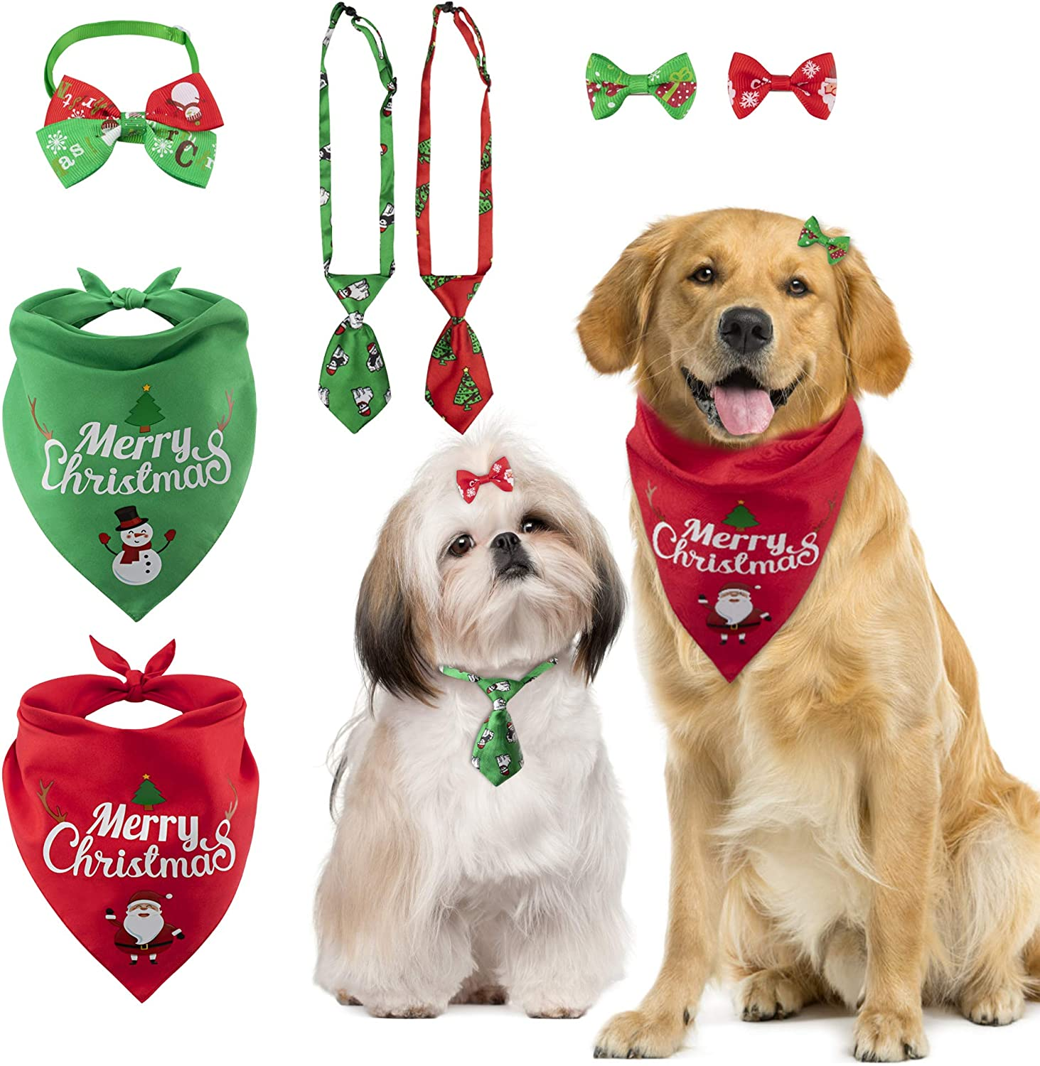 Dog Bow TieChristmas Dog Bow TieBow Ties for DogsDog AccessoriesChristmas Dog AccessoriesUpcycled Dog TiesFREE SHIPPING
