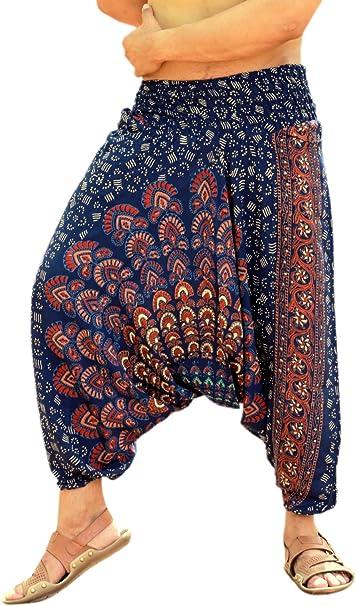 Amazon.com: Sarjana Handicrafts - Pantalones de yoga para ...