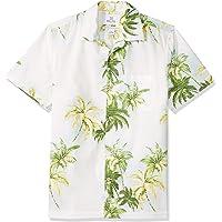 15430a7e69f Amazon Brand - 28 Palms Men s Standard-Fit 100% Cotton Tropical Hawaiian  Shirt