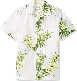 f4ff60000 Amazon Brand - 28 Palms Men's Standard-Fit 100% Cotton Tropical Hawaiian  Shirt