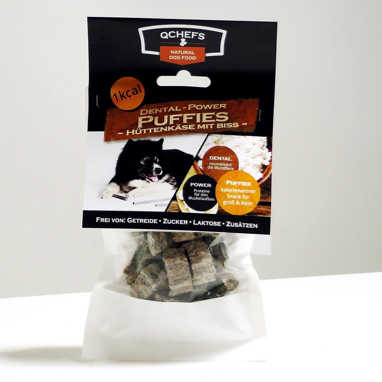 QCHEFS Puffies 65g - vegetarische Zahnreinigung Q-Pet UG