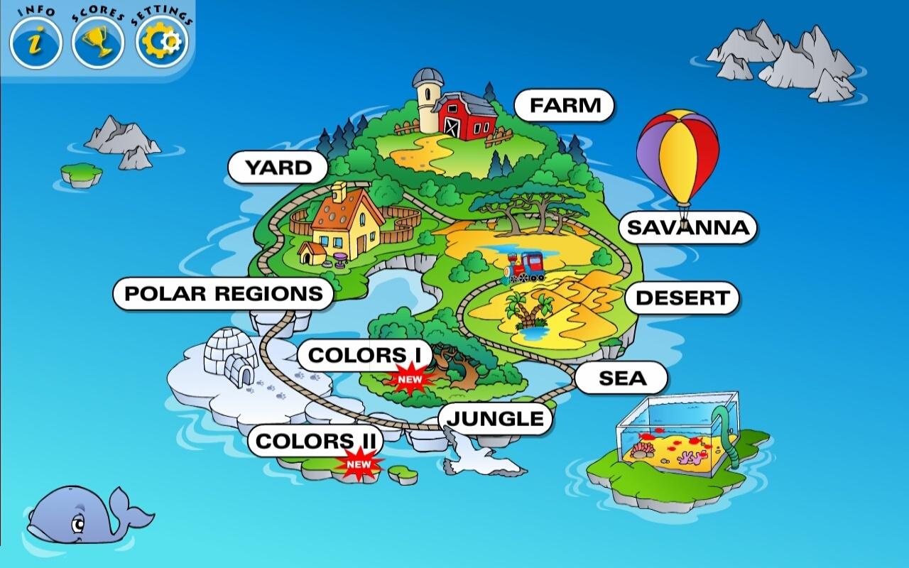 Amazon.com: Kids Animal Train: Preschool and Kindergarten Learning ...