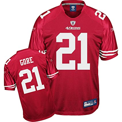3f8c06327 Amazon.com   Reebok San Francisco 49ers Frank Gore Authentic Jersey ...