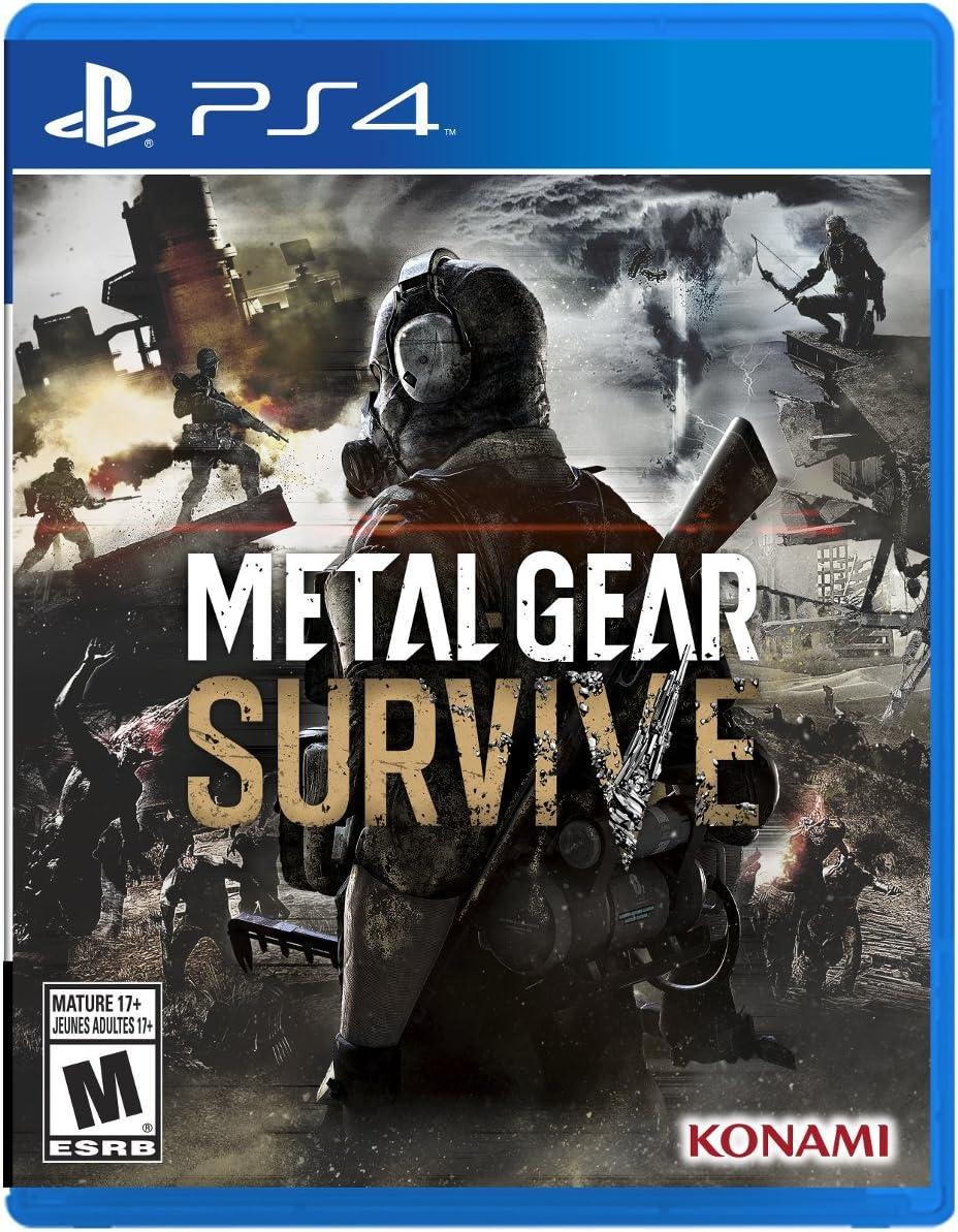 Amazon com: Metal Gear Survive - PlayStation 4: Konami of